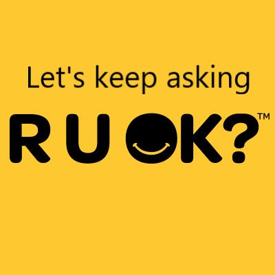 Let's keep asking R U OK?